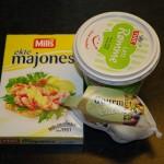 Ingredienser hvitløksdressing foto:karlingestumo