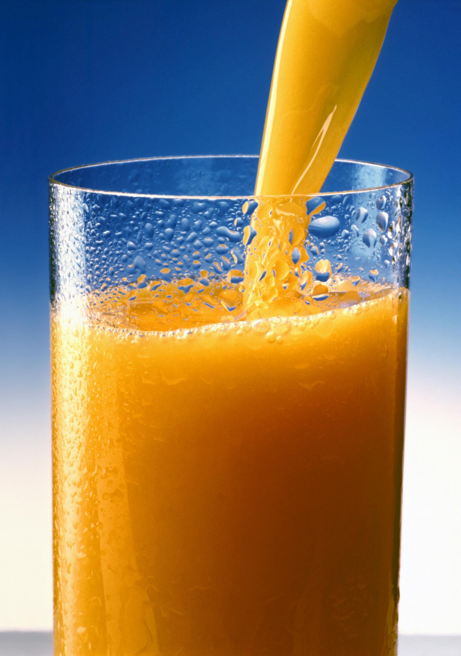 Appelsinjuice, alt du trenger til vodkaen Foto:WikimediaCommons