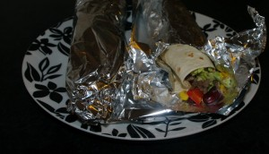 Burritos ferdig til servering Foto: Karl Inge S