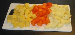 Terninger klar til koking Foto:karlingestumo