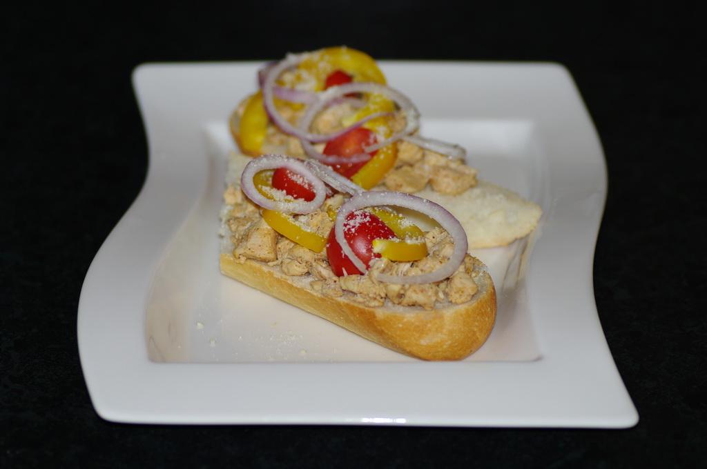 Kyllingbaguette