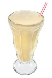 Banan milkshake Foto:Wikimediacommons